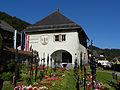 Mönichwald - Gemeindeamt mit unterirdischer Kapelle und Friedhof.jpg