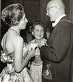 M-L Heini sekä Urho & Sylvi Kekkonen, 1961.jpg