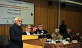M. Hamid Ansari delivering the inaugural address at the seminar on 'The cultural similarities between Iran and the Indian sub-continent Indigenous Cultural Fragmentation in the Era of Globalization', in New Delhi.jpg
