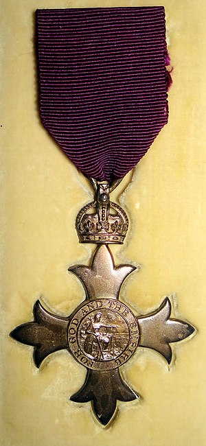 Order of the British Empire - MBE as awarded in 1918