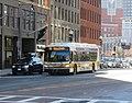 MBTA route 92 bus on North Washington Street, October 2020.JPG