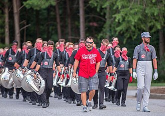 Music City Drum and Bugle Corps - Image: MCDC Marching