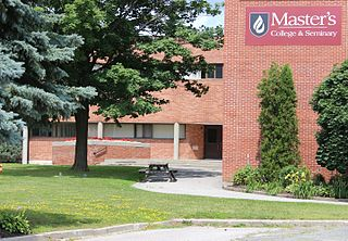 Masters College and Seminary