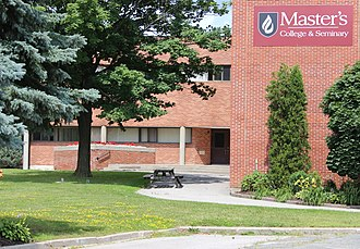 Master's College and Seminary - MCS administration building