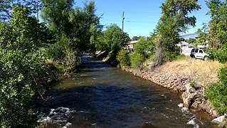 Middle Fork Popo Agie River