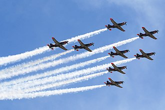 Orlik Aerobatic Team - Orlik Aerobatic Team at the 2015 Malta International Airshow