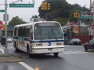 South Jamaica, Queens - Image: MTA Bus TMC RTS 9726