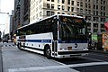 MTA NYC Bus X11 bus along Broadway.jpg