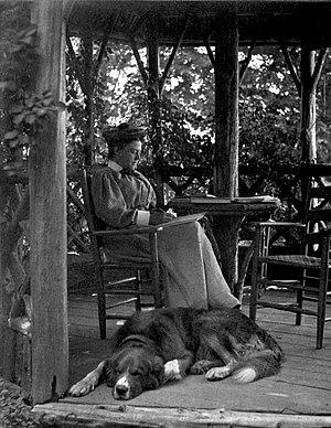 Mabel Osgood Wright - Mabel Osgood Wright photographed by her husband James Osborne Wright