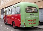 File:MacBraynes Bus - 1963 Restored Bedford coach 380FGB - used by Northern Constabulary Pipe Band at Armed Forces Day Parade Inverness Scotland (4824381563).jpg