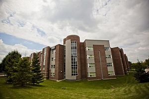 University of Waterloo - The Mackenzie King Village residence, constructed in 2002, is a recent addition to the university.