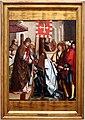 Maestro di lourinhã, retablo di san jacopo, 1520-25, 07 consegna della bandiera all'ordine di san jacopo.jpg