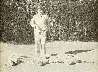 Three of the last wild cheetahs in India were shot in 1947 by Maharaja Ramanuj Pratap Singh Deo of Surguja. Maharajah Ramanuj Pratap Singh Deo with cheetah kill 1948 BNHS.jpg