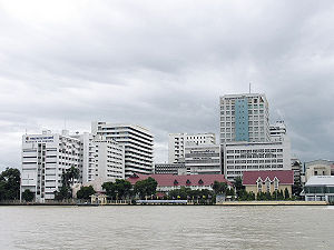 Siriraj Hospital and Mahidol University at Ban...