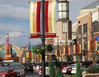 Southlands (Aurora, Colorado) - Half view of Main Street