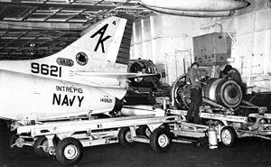 Maintenance of VA-15 A-4C aboard USS Intrepid (CVS-11) 1967.jpg
