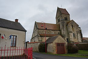 Mairie église local de la pompe.JPG