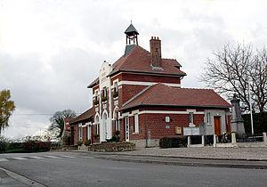 Abbécourt - The Town Hall