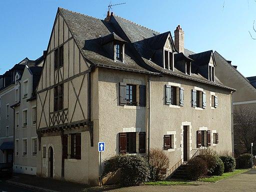 Maison 7 rue Vieille Saint-Nicolas et 10 rue Corne de Cerf - Angers - 20110116