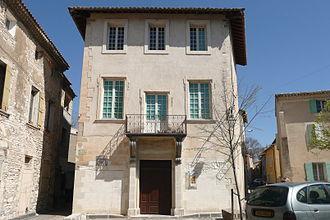Esprit Fléchier - Birthplace of Esprit Fléchier in Pernes-les-Fontaines