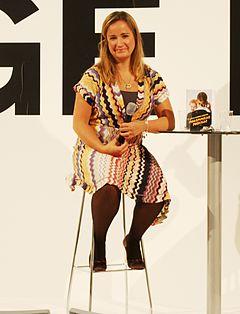 Malin Persson Giolito på Bokmässan i Helsingfors 2009.