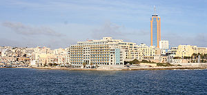 St Julian's, Malta - St. Julian's skyline