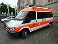 Malteser Ford 100 T300 Ambulanse, Stadverband Xanten pic2.JPG