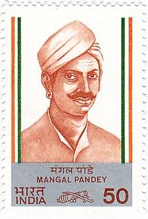 Mangal Pandey 1857 revolt activist