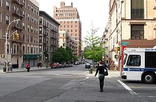 street in Manhattan, New York City