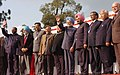 Manmohan Singh unveiled the foundation stone of Augmentation of Water Supply Project for Naharlagun-Nirjuli and Itanagar, Arunachal Civil Secretary Building, Pare Hydro Electric Project (1).jpg