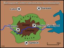Aéroports de Londres — Wikipédia