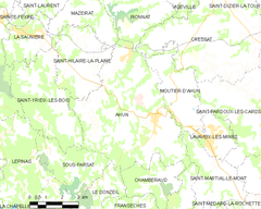 Map commune FR insee code 23001.png