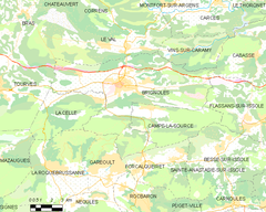 Map commune FR insee code 83023.png