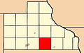 Map highlighting Fairfield Township, Jackson County, Iowa.jpg