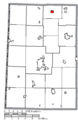 Map of Darke County Ohio Highlighting North Star Village.png