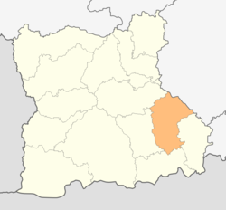 Location in Blagoevgrad provinceLocation on map of Bulgaria