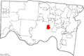 Map of Hamilton County Ohio Highlighting Saint Bernard Village.png