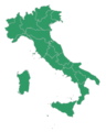 Map of Italy blank (green).png