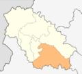 Map of Radomir municipality (Pernik Province).png