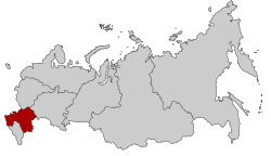 Map of Russia - Southern Federal District.svg