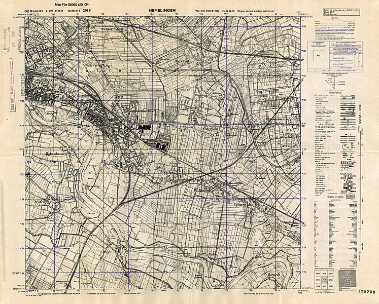 FileMap Of Pre World War II Germany TK Hemelingen Jpg - Germany map ww2