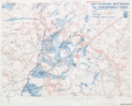Map showing wet areas near Passchendaele village.png