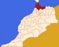 Mapa MARROCOS-2015-Tânger-Tétouan-Al Hoceïma.png