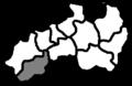 Mapa vikariátů litoměřické diecéze louny.png