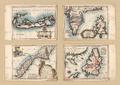 Maps of Bermuda, Iceland, Jan Mayen Island, and Newfoundland WDL2575.png