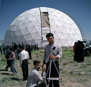 Maragheh - Venus transit 2004 at the site of observatory