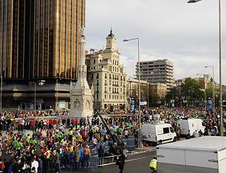 Madrid Marathon marathon running race held in Madrid, Spain