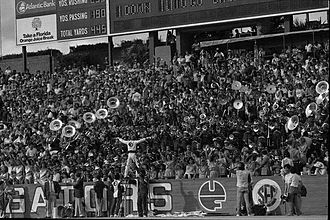 Florida–Florida State football rivalry - The Marching Chiefs at Florida Field in 1983