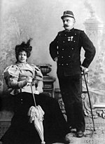 Margaretha e Rudolph Mac Leod nel 1897