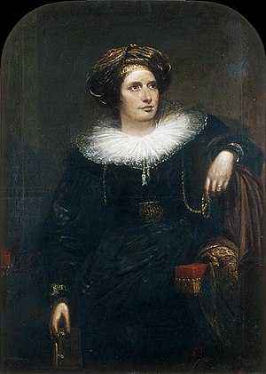 Maria Graham - Maria Callcott, painted by her second husband, Sir Augustus Wall Callcott.